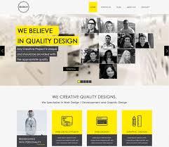skokov corporate flat responsive web template inspiration