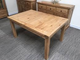 Solid Oak Furniture Oxford Solid Oak Extending Dining Table 5ft Oak Furniture Oakita