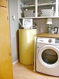 How To Decorate Your Laundry Room by Laundry Room Redo Hiding The Electrical Panel U0026 Water Heater