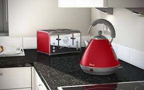 Toaster And Kettle Set Red Swan Retro Pyramid Kettle 2 Litre Black Amazon Co Uk Kitchen