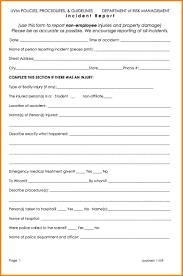 template incident report form 10 incident report sample in nursing legal resumed incident report sample in nursing incident report jpg