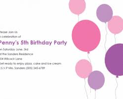 free printable kids birthday party invitations templates free