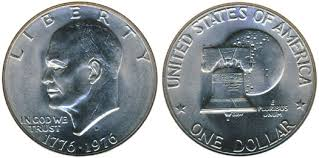 1776 to 1976 quarter dollar 1976 eisenhower dollar