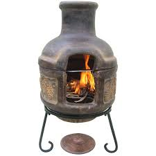 Lowes Firepit Clay Chiminea With Grill New Inspirations Pits Lowes Chimera