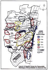 Tamil Nadu Map Map Aquifer Zones In Chennai Tamilnadu