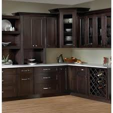 blind corner kitchen cabinet home depot espresso plywood shaker stock ready to assemble wall blind corner kitchen cabinet 36 in w x 42 in h x 12 in d