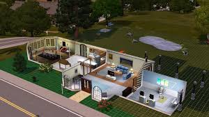 making your seasons house the sims forums sims3 bpm house first floor1 jpg