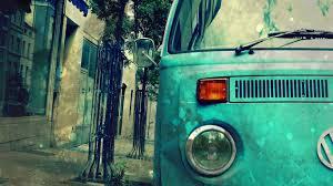 volkswagen van hippie blue photo collection vw hippie van wallpaper