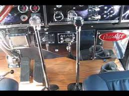 Custom Peterbilt Interior Colin Stuart U0027s Peterbilt Iowa 80 2009 1 Interior Youtube