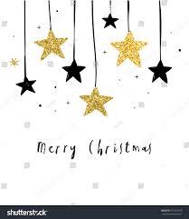 merry christmas modern merry christmas modern clean background black stock vector
