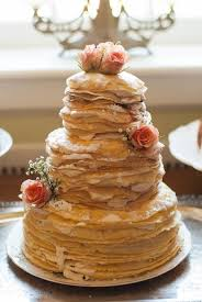 how much is a wedding cake unique wedding cake alternative a crepe cake from a garden