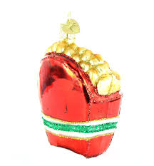 old world christmas french fries glass blown ornament one