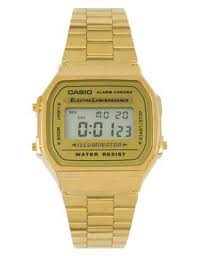 casio a168 shoptagr casio a168 wg 9 ef gold plated digital by casio