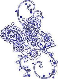 pin paisley tattoos pink ribbon on paisley