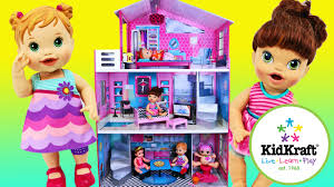 kidcraft dollhouse for baby alive dolls lalaloopsy u0026 18 u0027 u0027