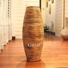 christmas retro bamboo vase large floor vase big antique vintage