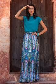 mosaic maxi skirt from the marrakech collection by shabby apple