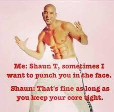 Shaun T Memes - insanity throughout the years dietbet