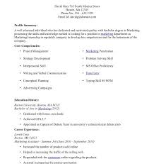 resume sles for college students seeking internships resume internship sle malaysia for college students with no