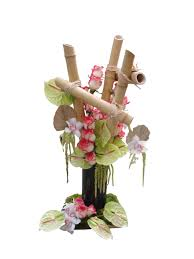 flower arrangements bamboo modern flower arrangement event flowers ny