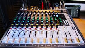 thomann studio desk best mixing desk for a home studio mixing consoles music radio