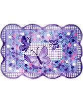 La Rugs Fall Sale Butterfly Area Rug Throw Rugs Purple Floral
