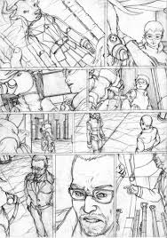 comic page rough 4 by mad jojo on deviantart
