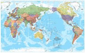 Map Of Globe Map Of World Australia U2013 World Map Weltkarte Peta Dunia Mapa