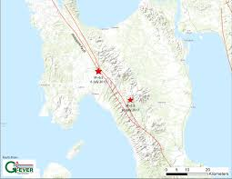 Philippine Map Second Large Earthquake On Philippine Fault In Four Days Temblor Net