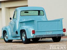 Classic Ford Truck Images - 1953 ford f 100 cool as a glacier rod network