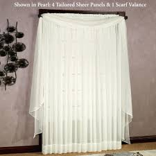 95 Inch Curtain Panels Curtains 95 Inches 100 Images Spice Embroidered Oggi Faux Silk