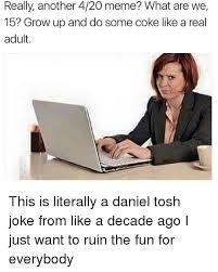 Daniel Tosh Meme - 25 best memes about daniel tosh jokes daniel tosh jokes memes