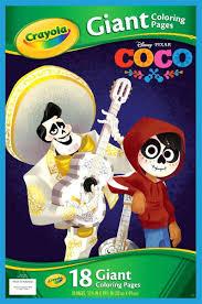 crayola disney pixar coco coco giant coloring pages coloring book