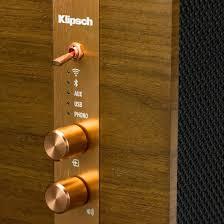 Wohnzimmerm El Systeme Klipsch Heritage The Three Retro Wlan Lautsprecher Kaufen Tink
