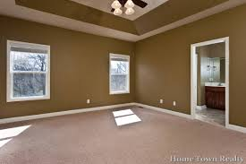 great brown white spacious master bedroom paint colors design with