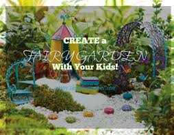creating a fairy garden with kids plus a coupon