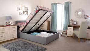 Ottoman Storage Bed Double by Storage Bed Frame Top Preferred Home Design