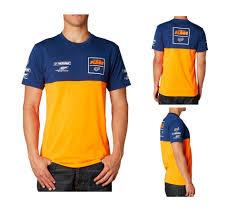 fox motocross t shirts fox racing ktm team replica t shirt orange navy motocross mx