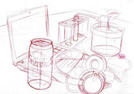 concept art of objects drawing by liyuconberma on deviantart