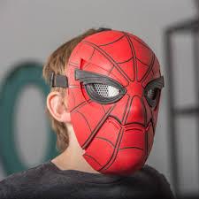 spiderman mask halloween spider man homecoming spider sight mask spider man u0026 marvel