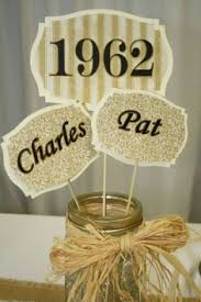 50th anniversary centerpieces 50th anniversary party ideas decorations crafty images of