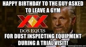 Gym Birthday Meme - 60431992 jpg