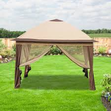 Replacement Awnings For Gazebos Outdoor Extraordinary Grill Canopy For Your Backyard Decor