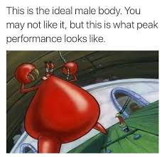 Body Meme - 17 times the ideal male body meme was hilarious in 2016