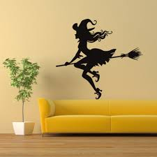 witch halloween background popular witch wall decor buy cheap witch wall decor lots from