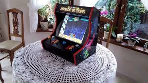 Tabletop Arcade Cabinet Bartop Arcade Machine Raspberry Pi 3 Arcade Cabinet Youtube