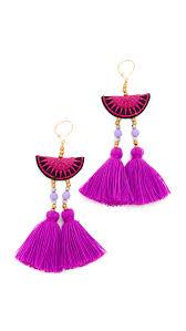 purple earrings shashi camille earrings shopbop