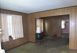 covering wood paneling and uncovering wood floors estate w