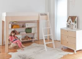 apartment unique attractive bunk bed with cool desk designs at