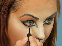 Cat Face Makeup For Halloween Cat Eye Makeup Face Shape Mugeek Vidalondon